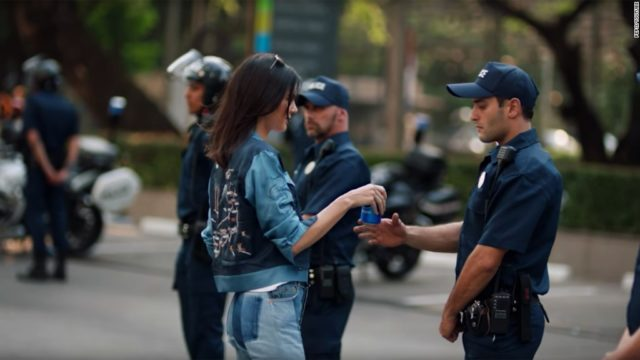 pepsi kendall jenner bad ads